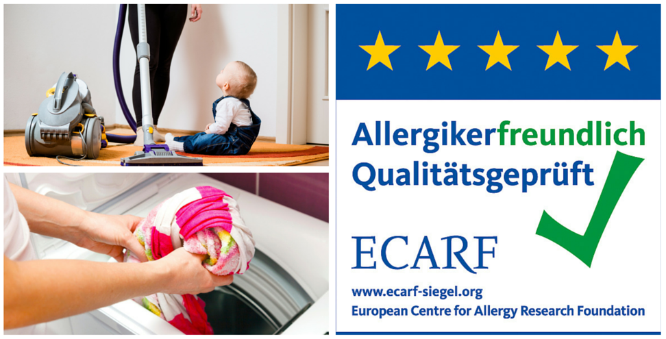 ECARF-Siegel für allergikerfreundliche Produkte und Services